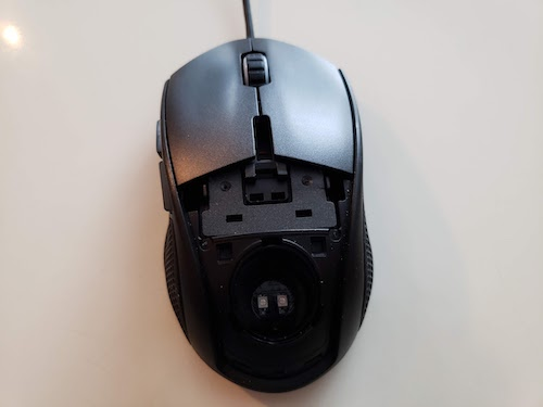 Modified Minos X5 mouse