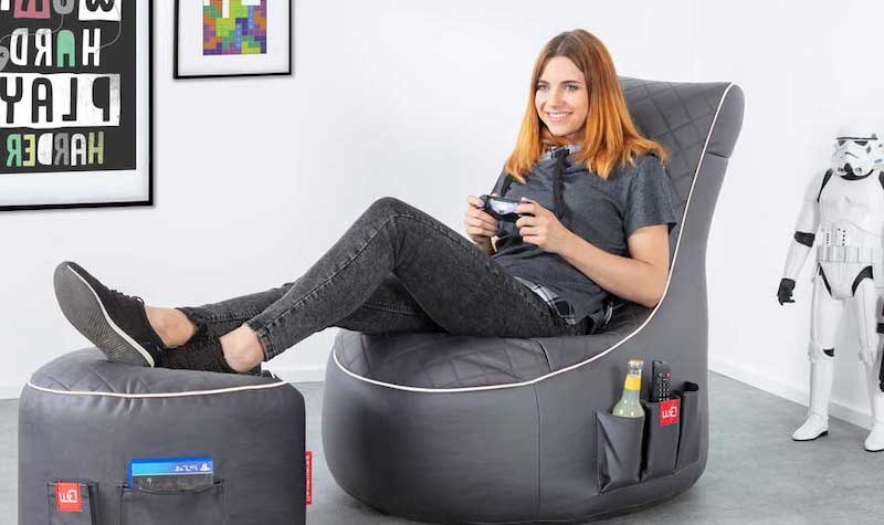 comfortable bean chair for gaming